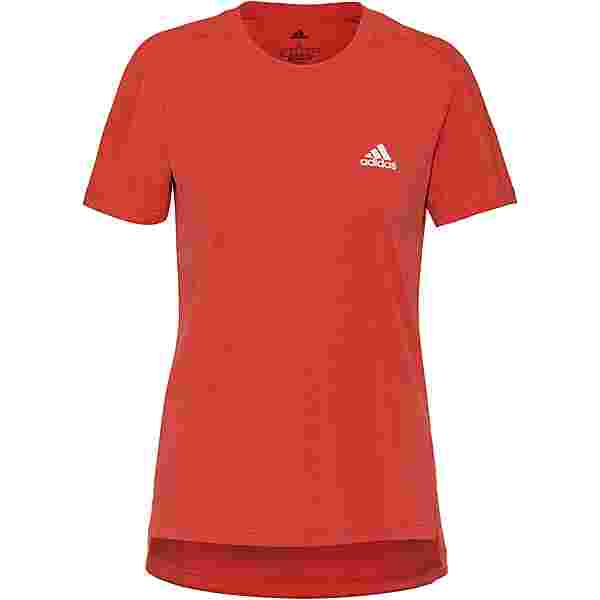 adidas DESIGNED2MOVE AEROREADY Funktionsshirt Damen crew red-white