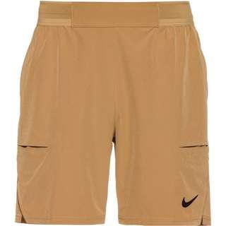 Nike DRY ADV 7IN Tennisshorts Herren parachute beige-black