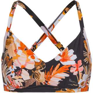 Seafolly Bora Bora Flora Bikini Oberteil Damen black