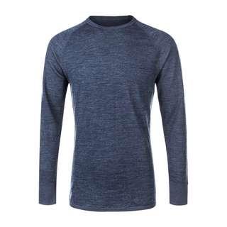 Whistler BRADLEY M Merino Wool Skishirt Herren 2048 Navy Blazer