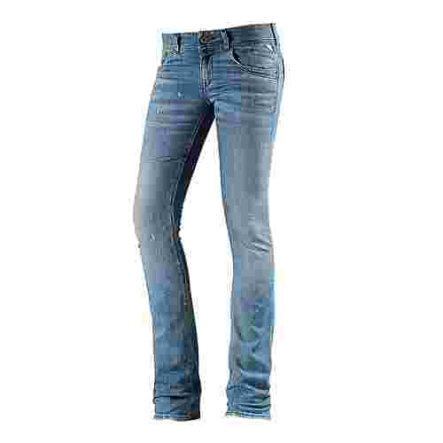 REPLAY Skinny Fit Jeans Damen used denim