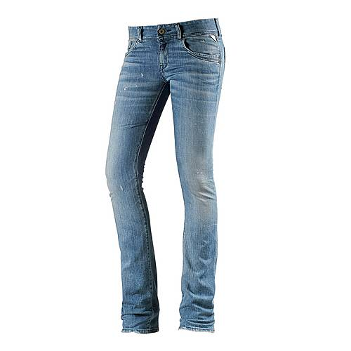 REPLAY Skinny Fit Jeans Damen used denim