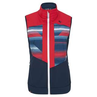 Ziener NIYA Softshell Weste Damen stripes