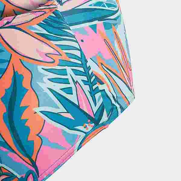 adidas Flower Badeanzug Badeanzug Kinder Active Teal / Wild Teal