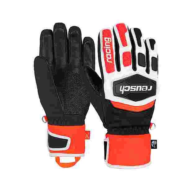 Reusch Worldcup Warrior R-TEX® XT Skihandschuhe black/white/fluo red