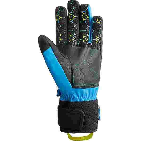 Reusch Stuart R-TEX® XT Skihandschuhe blck/dress blu/saf yellow