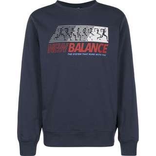 NEW BALANCE MT03509 Sweatshirt Herren blau