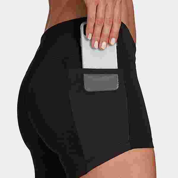 adidas Own The Run kurze Tight Tights Damen Black / Reflective Silver