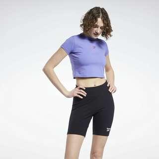 Reebok Reebok Classics Tight Cropped Top T-Shirt Damen Lila