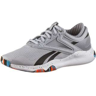 Reebok HIIT TR Fitnessschuhe Damen cold grey 2-orange flare -radiant aqua