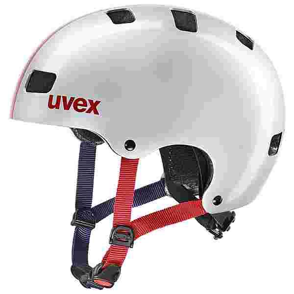 Uvex uvex kid 3 Fahrradhelm Kinder race silver