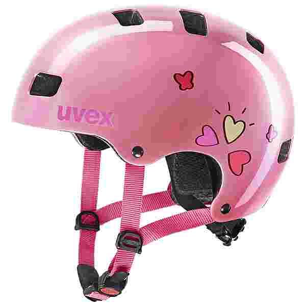 Uvex uvex kid 3 Fahrradhelm Kinder pink heart