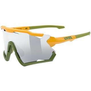 Uvex sportstyle 228 Sportbrille mustard-olive mat