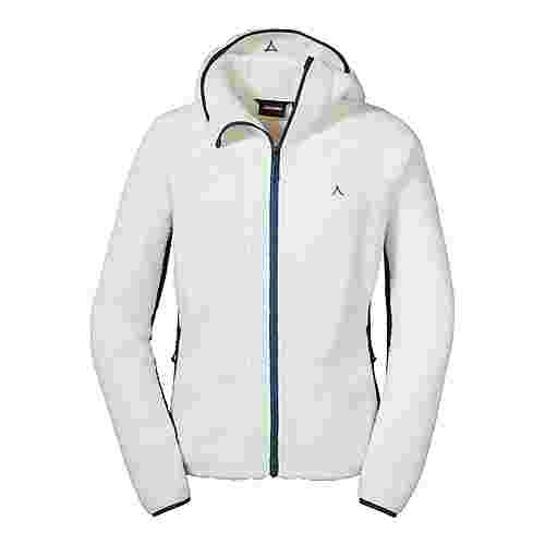 Schöffel Fleece Hoody Trifide L Fleecejacke Damen whisper white