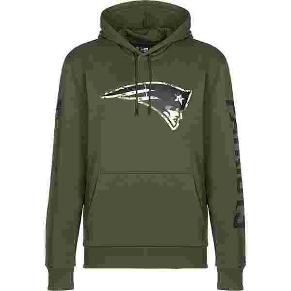 New Era NFL DIGI Camo PO New England Patriots Hoodie Herren oliv
