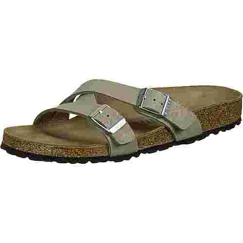 Birkenstock Yao Balance Sandalen Damen grün