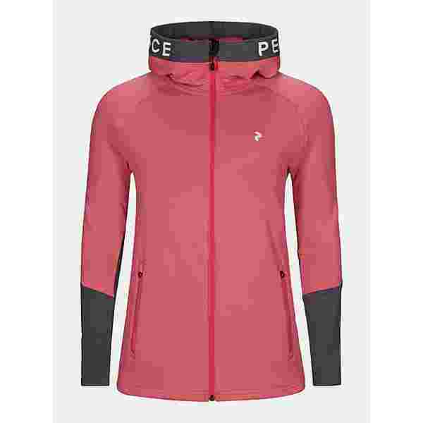 Peak Performance Rider Kapuzenjacke Damen alpine flower