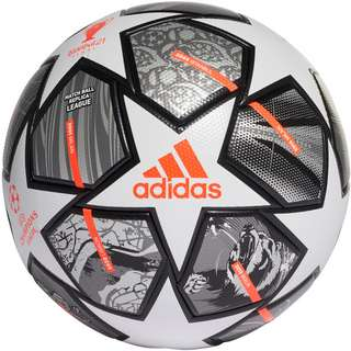 adidas Finale League Fußball white-iron met.-silver met.