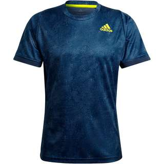 adidas FLFT Tennisshirt Herren crew navy-acid yellow-crew blue