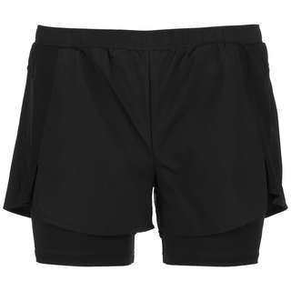 adidas 2 IN 1 ACTIVATED TECH DESIGNED2MOVE Funktionsshorts Damen black-black