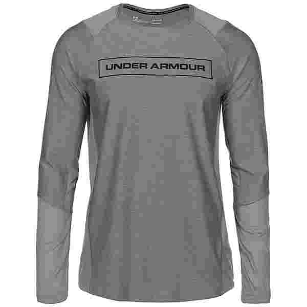Under Armour MK1 Graphic Langarmshirt Herren grau
