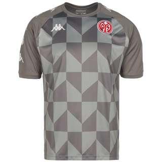 KAPPA 1. FSV Mainz 05 Fanshirt Herren grau / weiß