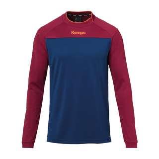 Kempa Prime Shirt langarm Funktionssweatshirt Herren blaurot