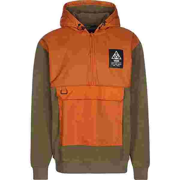 Vans 66 Supply Polar Fleece Hoodie Herren orange