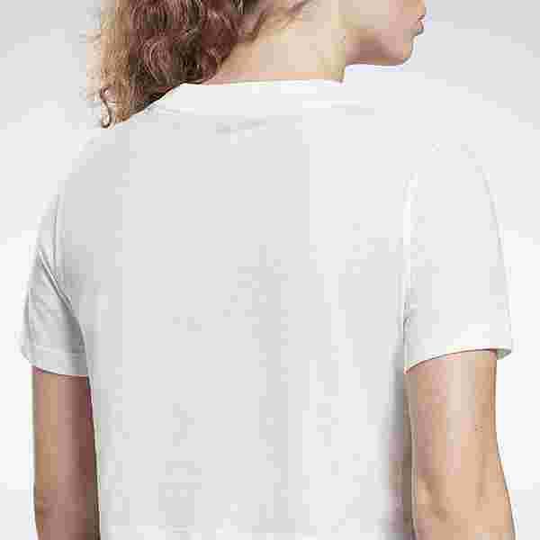 Reebok Reebok Identity Cropped T-Shirt T-Shirt Damen White / Black