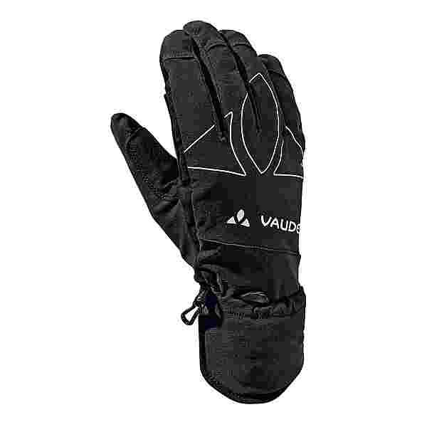 VAUDE La Varella Fingerhandschuhe black