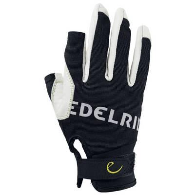 EDELRID Work Close Kletterhandschuhe schwarz/weiß