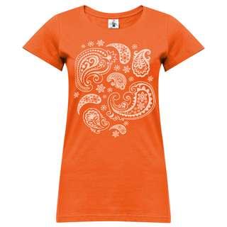 YOGISTAR.COM T-Shirt Damen orange