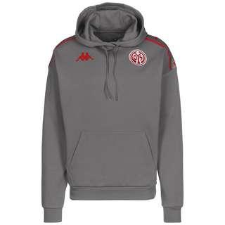 KAPPA 1. FSV Mainz 05 Hoodie Herren grau / rot