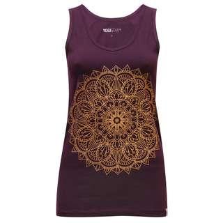 YOGISTAR.COM Mandala Funktionsshirt Damen violet