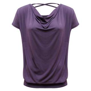 YOGISTAR.COM T-Shirt Damen violet