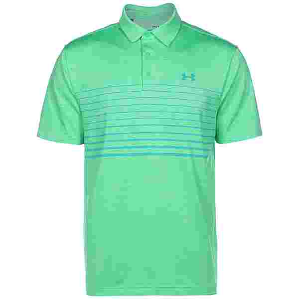 Under Armour Playoff Polo 2.0 Funktionsshirt Herren grün / hellgrün