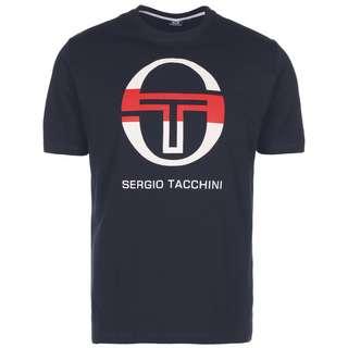 SERGIO TACCHINI Iberis T-Shirt Herren dunkelblau / weiß