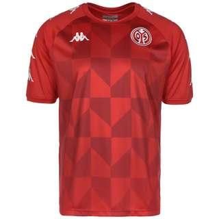 KAPPA 1. FSV Mainz 05 Fanshirt Herren rot / weiß