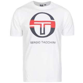 SERGIO TACCHINI Iberis T-Shirt Herren weiß / dunkelblau