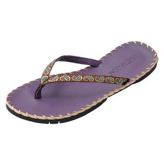 YOGISTAR.COM Zehentrenner purple