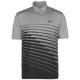 Under Armour Playoff Polo 2.0 Funktionsshirt Herren grün / neongrün