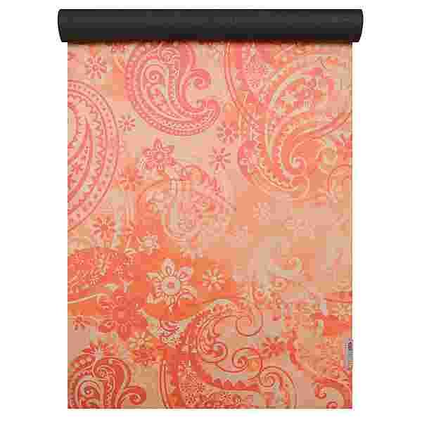 YOGISTAR.COM Matte paisley orange-red