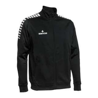 Derbystar Primo Präsentationsjacke Trainingsjacke Herren schwarzweiss