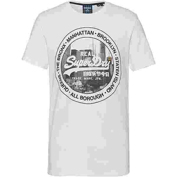 Superdry NYC Photo T-Shirt Herren optic