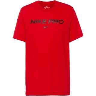 Nike Pro Funktionsshirt Herren university red