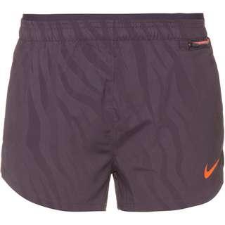 Nike Tempo Luxe Funktionsshorts Damen dark raisin-bright mango