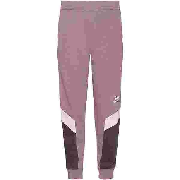 Nike NSW Heritage Sweathose Damen purple smoke/dark raisin/white