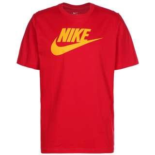 Nike Icon Futura T-Shirt Herren rot / gelb