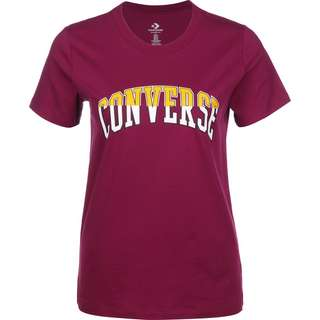CONVERSE Twisted Varsity Classic T-Shirt Damen pink