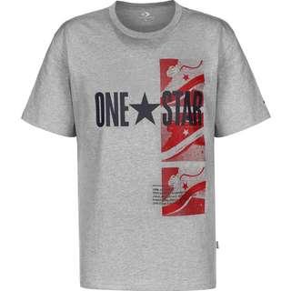 CONVERSE One Star Photo T-Shirt Herren grau/meliert